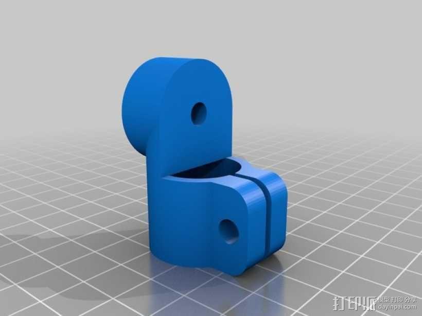 相机固定装置 相机架 3D模型  图27