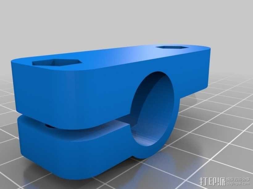 相机固定装置 相机架 3D模型  图31