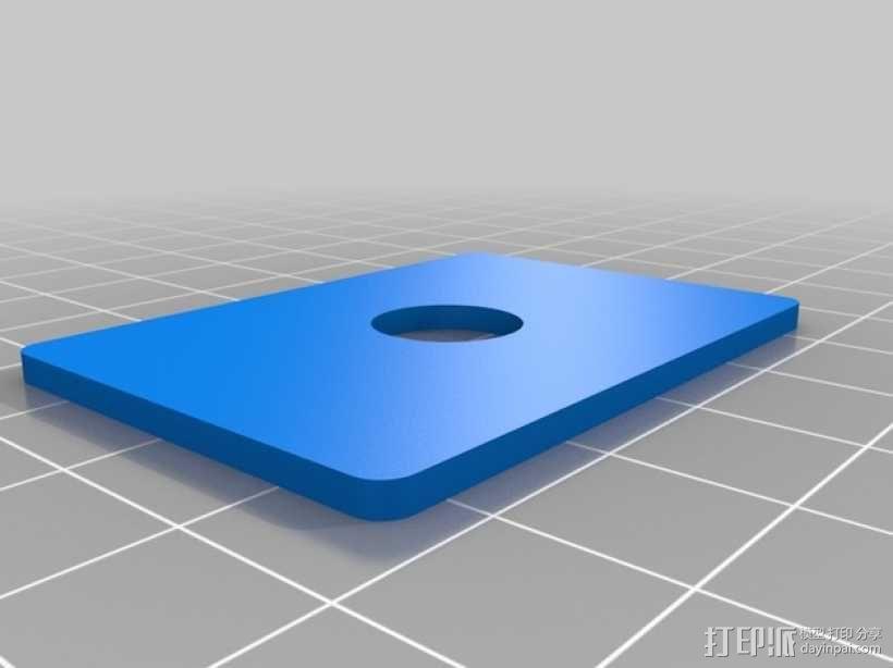 相机固定装置 相机架 3D模型  图37