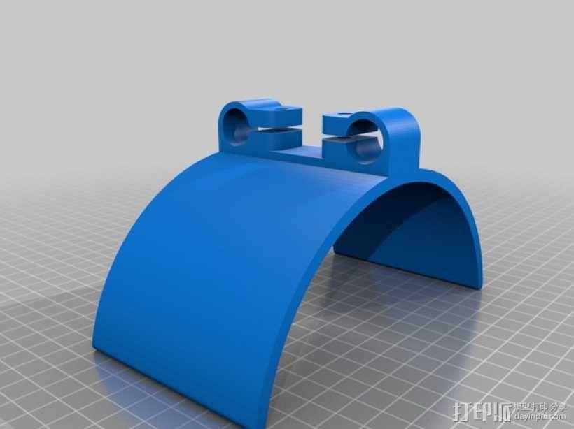 相机固定装置 相机架 3D模型  图39