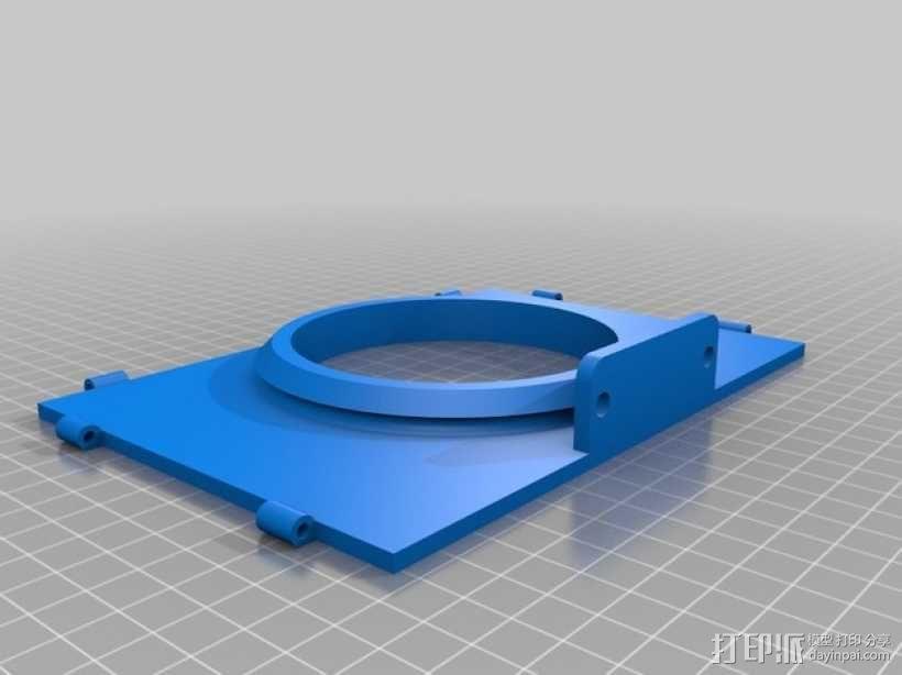 相机固定装置 相机架 3D模型  图41