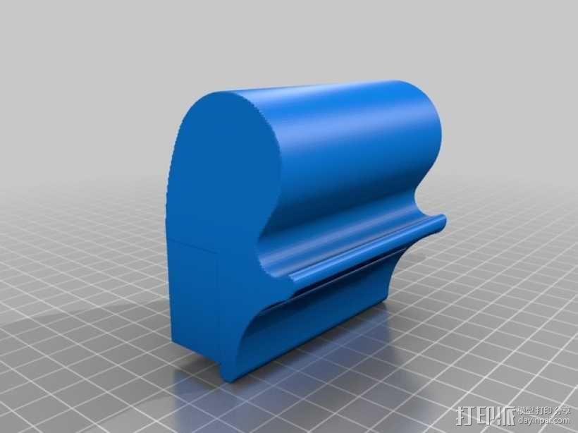 iPhone 5/5s/5c手机座 3D模型  图2