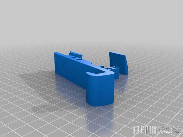通用型手机支架 3D模型  图2