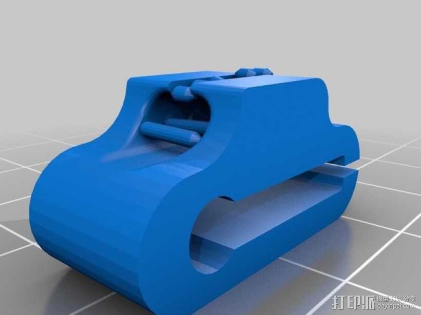 耳机夹 3D模型  图2