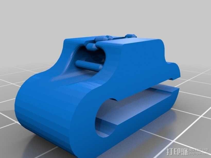 耳机夹 3D模型  图3