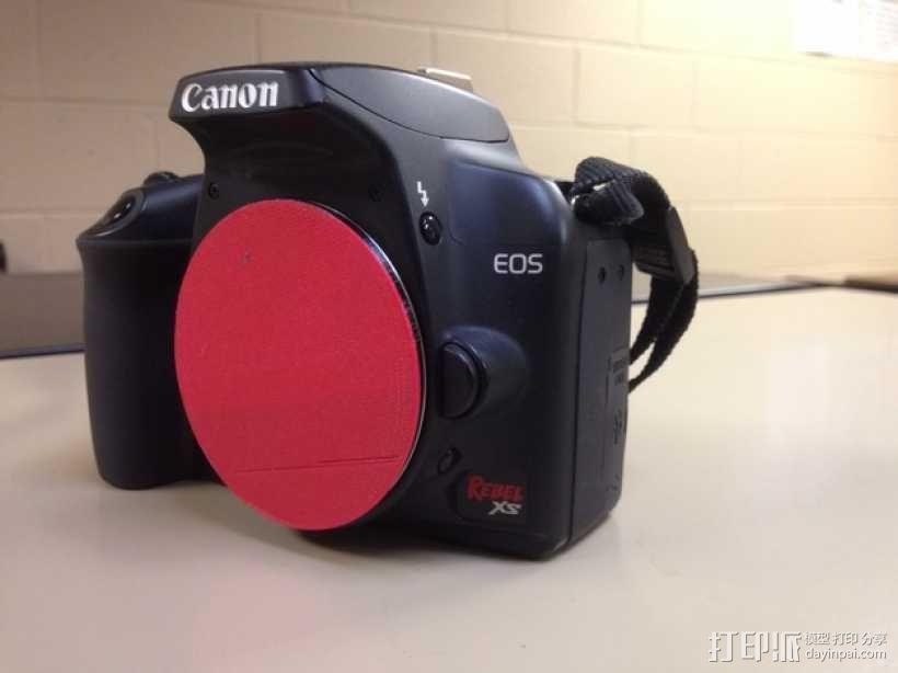 佳能相机镜头盖 镜头罩 3D模型  图1