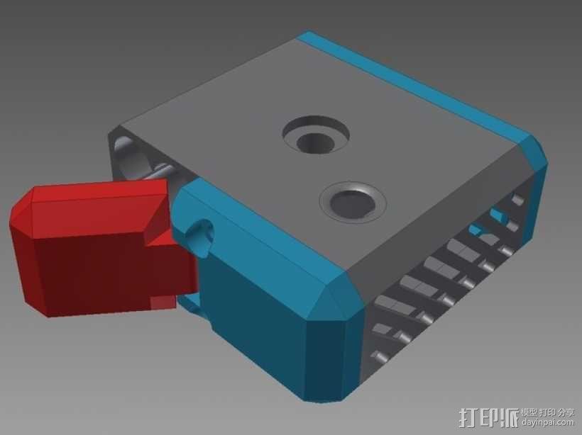 佳能MP-E 65相机镜头环形灯 3D模型  图3