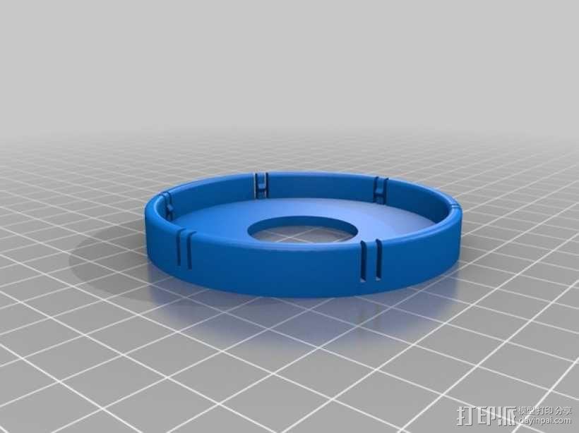 佳能MP-E 65相机镜头环形灯 3D模型  图6