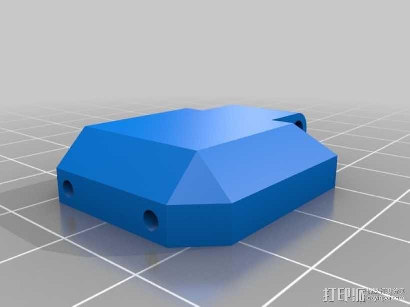佳能MP-E 65相机镜头环形灯 3D模型  图9