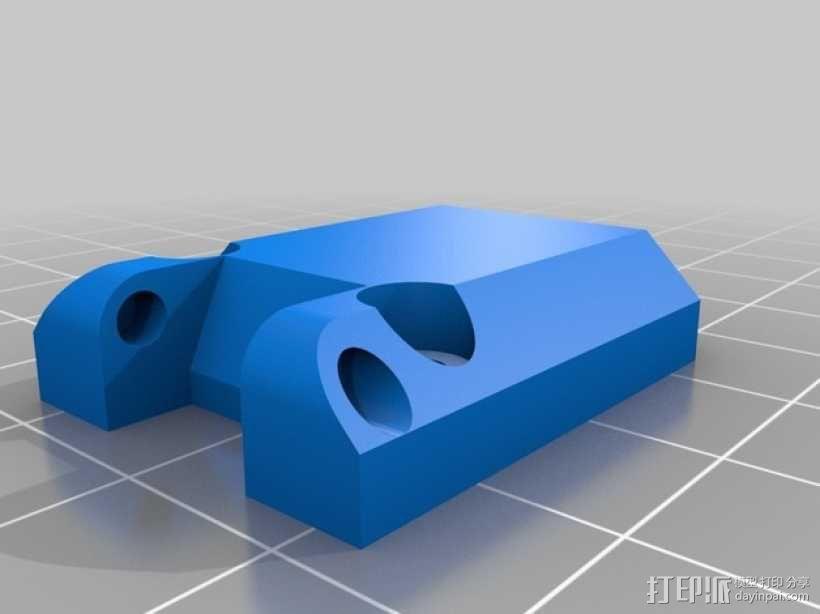 佳能MP-E 65相机镜头环形灯 3D模型  图10
