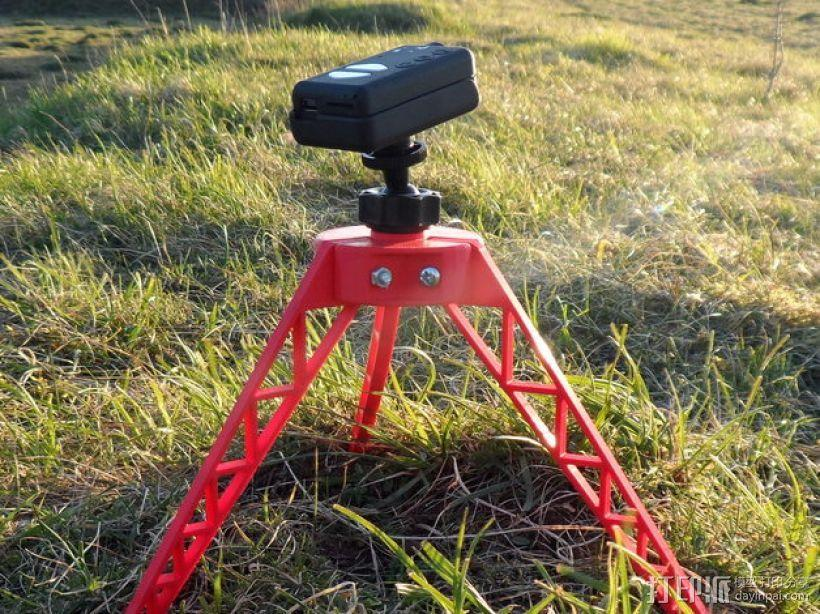 相机三角架 3D模型  图2