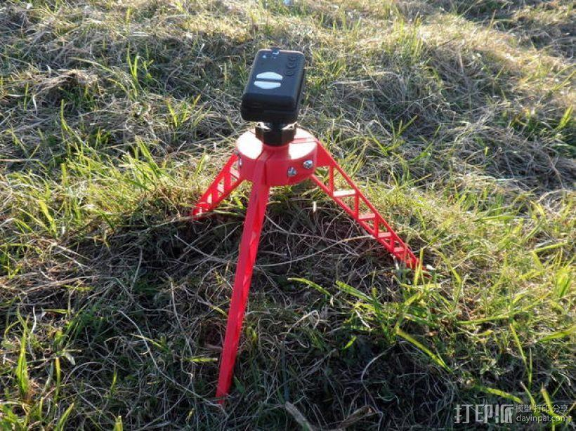 相机三角架 3D模型  图3
