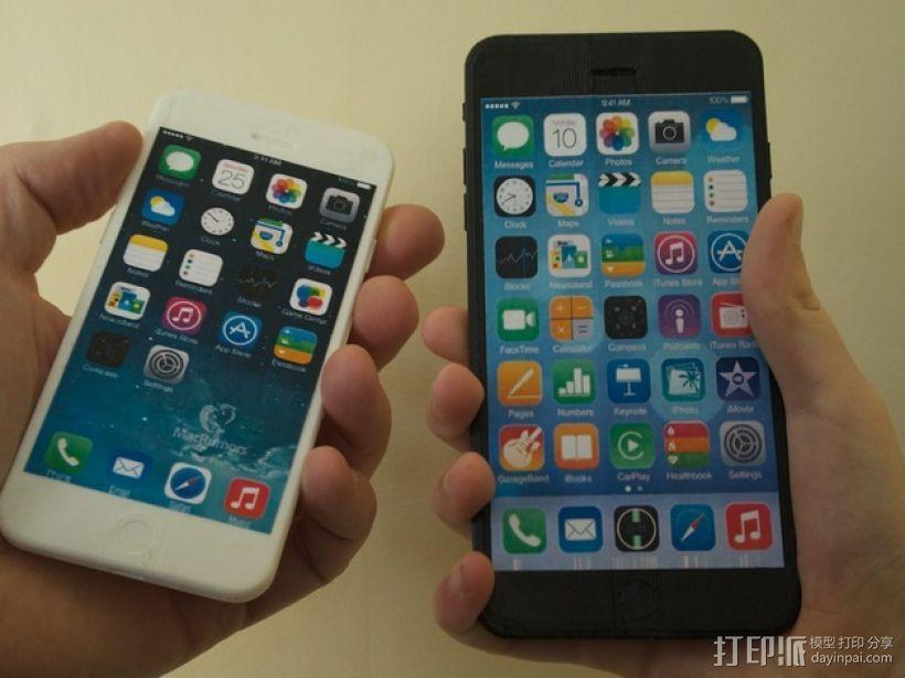 iPhone 6手机模型 3D模型  图1