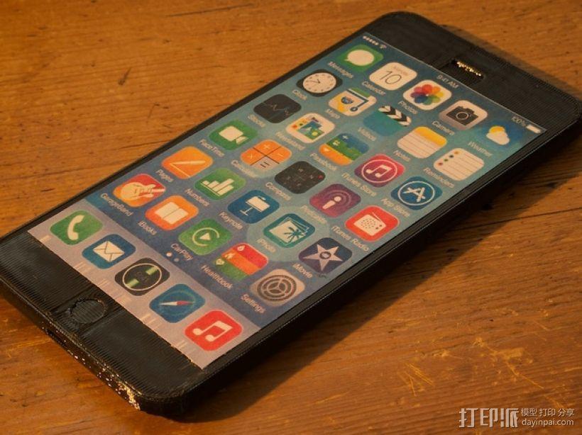 iPhone 6手机模型 3D模型  图3