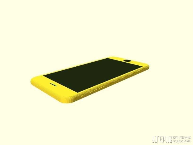 iPhone 6手机模型 3D模型  图5