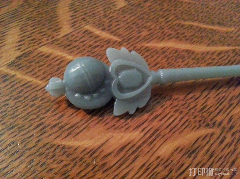 美少女战士的手杖 3D模型  图3
