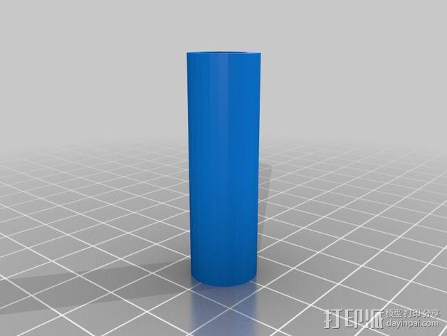 GoPro相机的伸缩支撑架 3D模型  图2