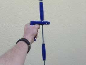 GoPro相机的伸缩支撑架 3D模型