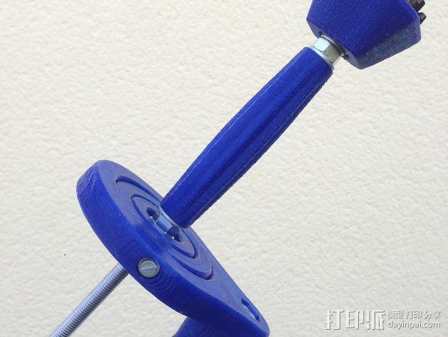 GoPro相机的伸缩支撑架 3D模型  图11