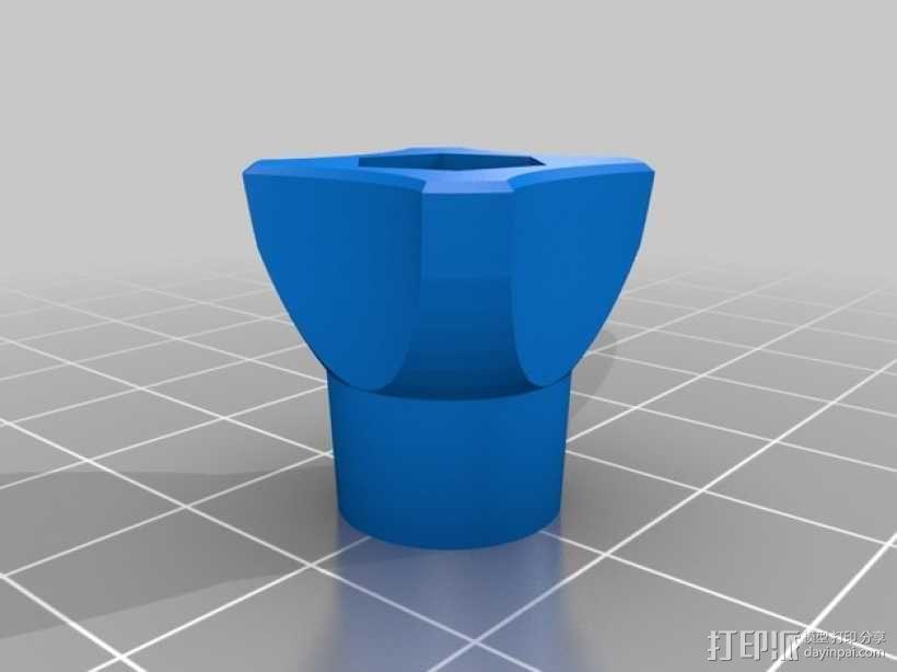 GoPro相机支撑架旋钮 3D模型  图7