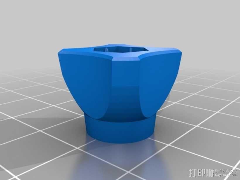 GoPro相机支撑架旋钮 3D模型  图8