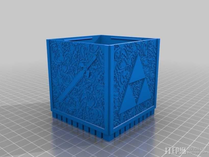 欧亚塞尔达外壳 3D模型  图2