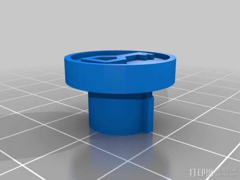欧亚塞尔达外壳 3D模型  图4