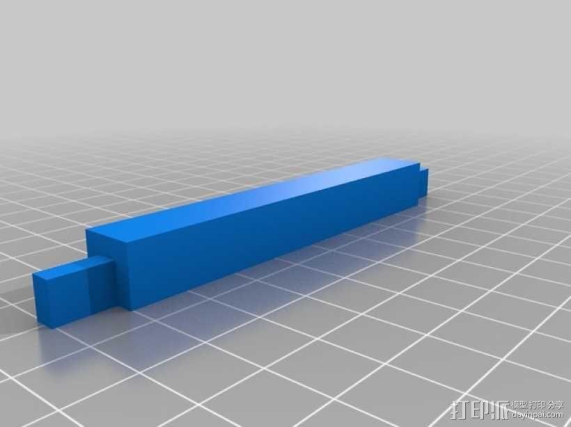 定制iPad固定架 3D模型  图3