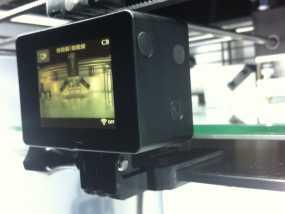 GoPro 相机打印床支架 3D模型