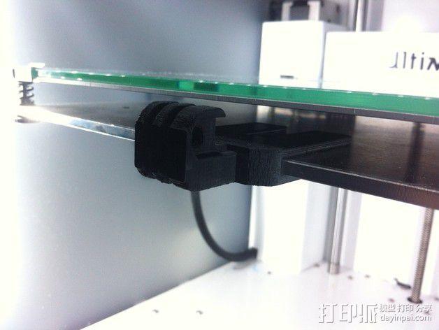 GoPro 相机打印床支架 3D模型  图5