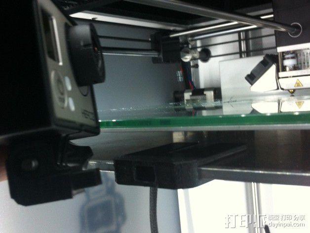 GoPro 相机打印床支架 3D模型  图6