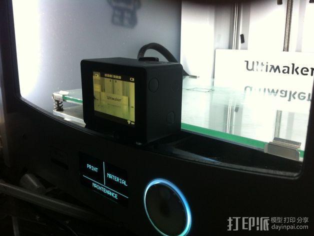 GoPro 相机打印床支架 3D模型  图8