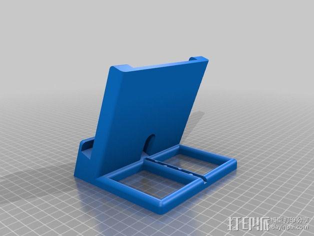 Nexus 5 & 7手机充电座 3D模型  图2