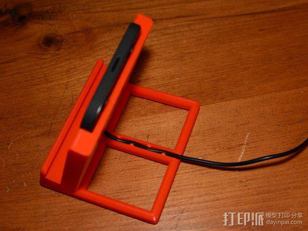 Nexus 5 & 7手机充电座 3D模型  图6