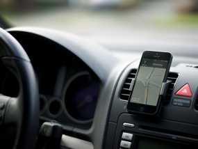车载式iPhone5手机架 3D模型