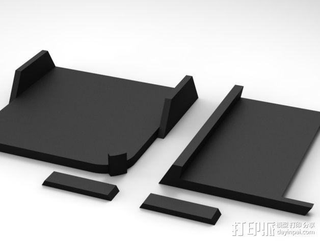 车载式iPhone5手机架 3D模型  图7
