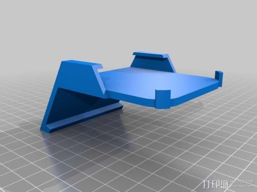 车载式iPhone5手机架 3D模型  图10