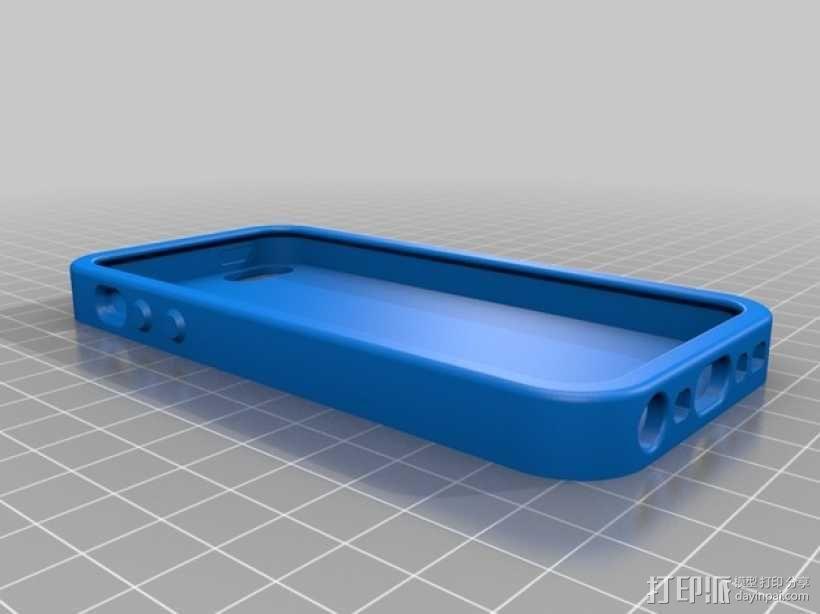 有弹性的iPhone 5/5s手机外壳 3D模型  图3