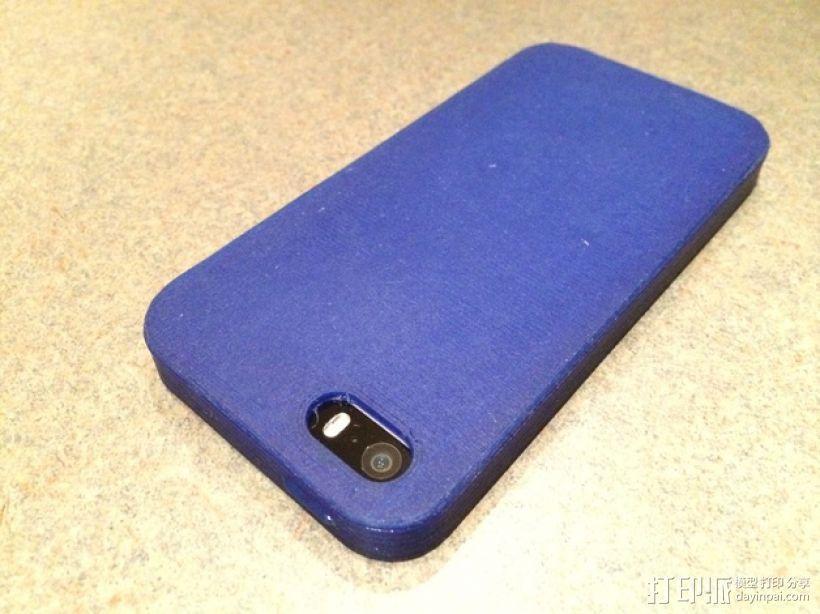 有弹性的iPhone 5/5s手机外壳 3D模型  图6