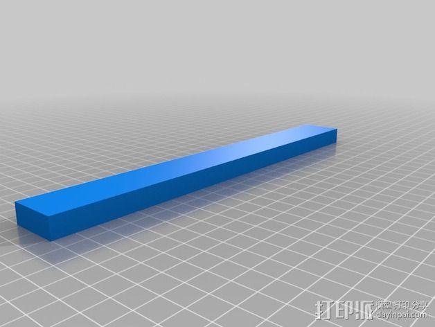 Fitbit 弹性腕带 3D模型  图4