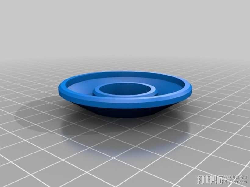 GoPro3/3+相机滤镜盖 3D模型  图2