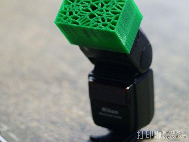 尼康相机闪光灯保护罩 3D模型  图1