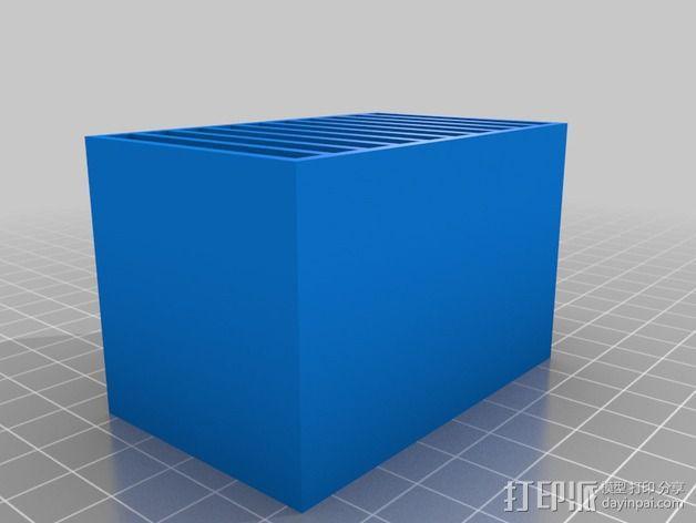 尼康相机闪光灯保护罩 3D模型  图3