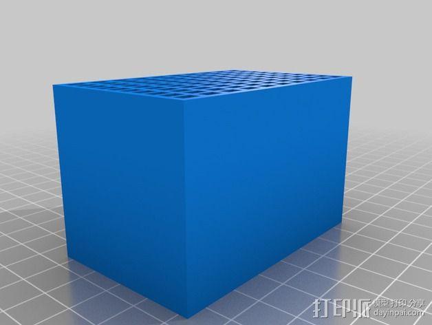 尼康相机闪光灯保护罩 3D模型  图4