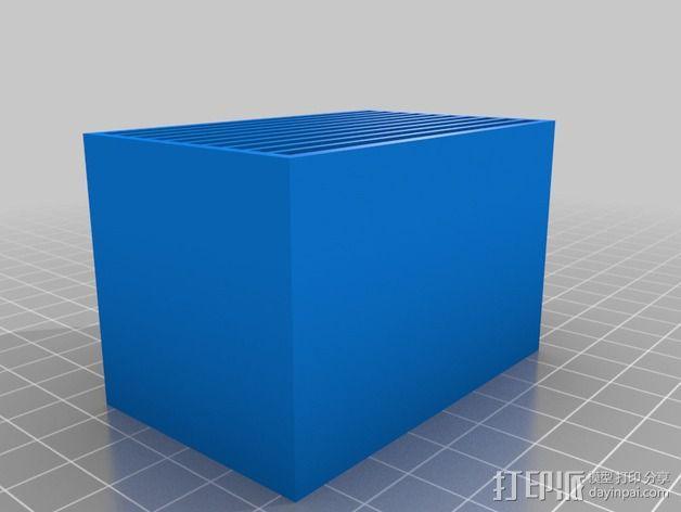 尼康相机闪光灯保护罩 3D模型  图6
