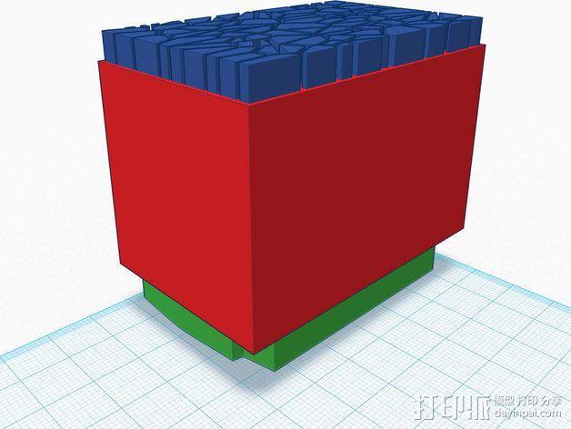 尼康相机闪光灯保护罩 3D模型  图11