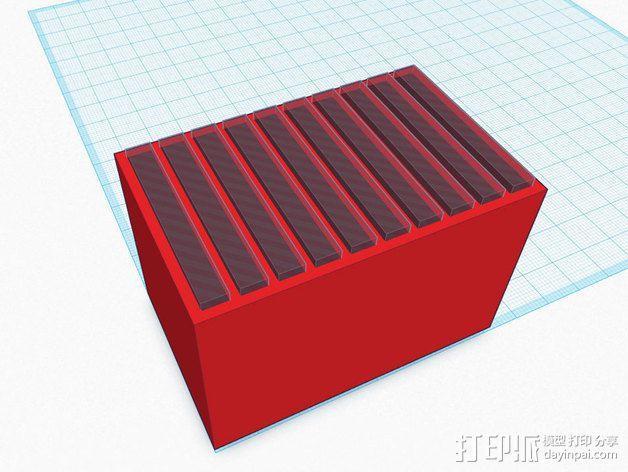 尼康相机闪光灯保护罩 3D模型  图13
