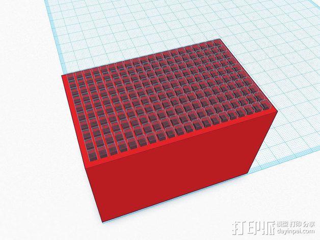 尼康相机闪光灯保护罩 3D模型  图14