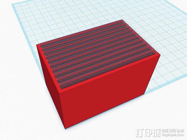尼康相机闪光灯保护罩 3D模型  图15