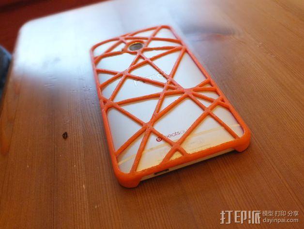 htc one手机保护壳 3D模型  图3